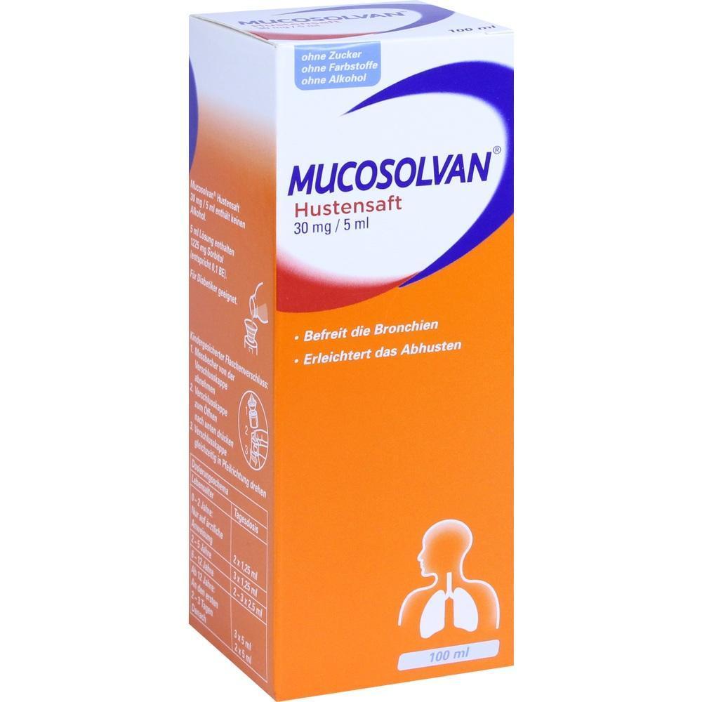 Mucosolvan Schwangerschaft